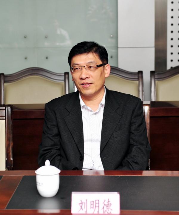 中国科技大学管理学院院长-校领导会见台湾中国科技大学教师